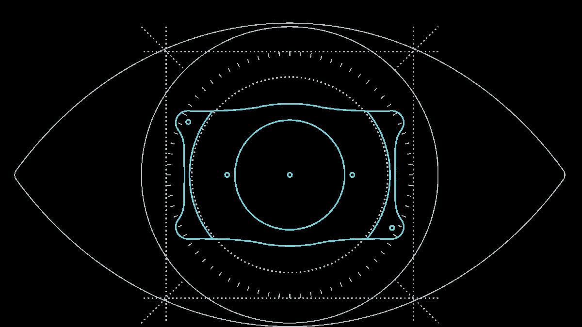 EVO+ ICL der neuesten Generation - Augen Schema