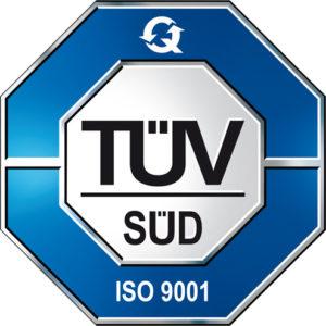 TÜV Süd ISO 9001 überwacht