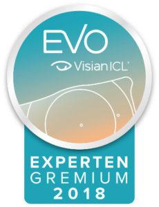 EVO Visian Experten Siegel 2018