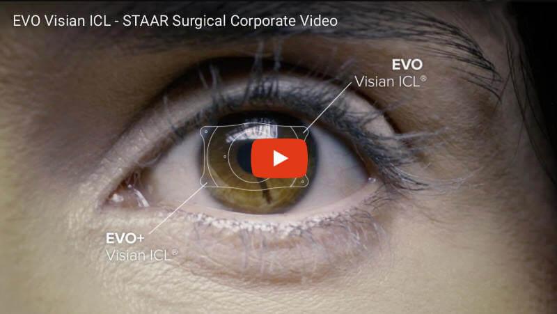 EVO Visian ICL Linsen Herstellung. Video vom Hersteller STAAR Surgical Corporation