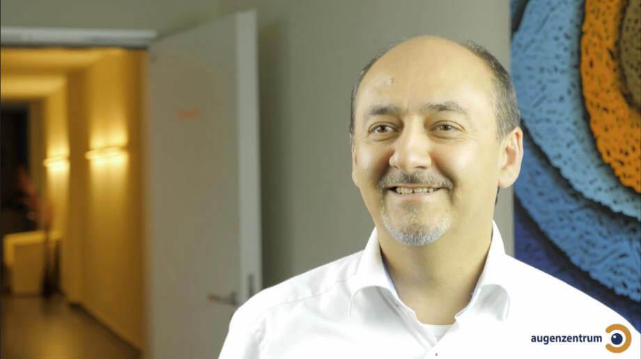 Dr. med. Amir Mobarez Parasta - leitender Augenarzt im Augenzentrum München